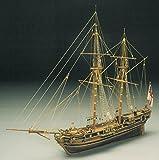 Mantua Modelle Rennen Pferd 1754 Bombe Ketsch Holz Modellbau Schiff Bausatz Maßstab 1/47