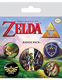 Set de 5 botones decorativos The Legend of Zelda