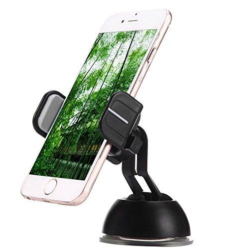 thanly universale supporto da auto per cellulare, Fashion Design 360rotazione cruscotto parabrezza Telefono Supporto Cradle Dock per Apple Iphone, Samsung Galaxy, HTC, LG, BlackBerry, Sony