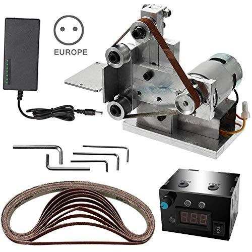 Ohyoulive Grinder Electric Belt Sander Mini DIY Polishing Grinding Sharpener Machine