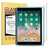 SPARIN [2 Pezzi] Compatibile con Pellicola Vetro Temperato iPad 9.7 2018 & 2017 & iPad PRO 9.7, Pellicola Protettiva per New iPad 9.7 (2018) / iPad PRO 9.7 - (9.7 Pollici)
