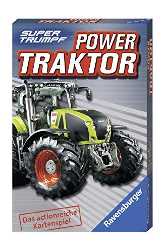 Ravensburger 20307 Kartenspiel - Power Traktor Supertrumpf