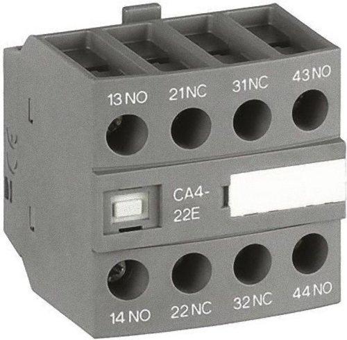 Abb-entrelec ca4-04e - Bloque contacto auxiliar