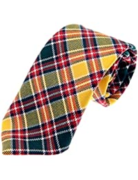 100% Reiver Jacobite Modern Clan Tie & Gift Wrap - Made in Scotland