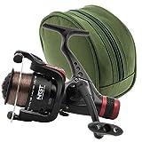 NGT ckr50 carpe Gros RUNNER BOBINE 1BB moulinet de pêche avec arrière glisser et BOÎTIER