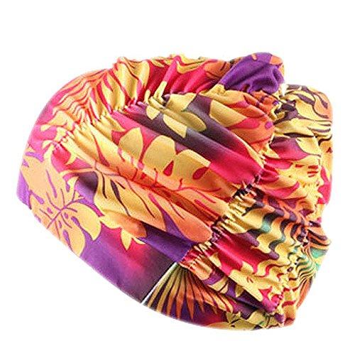 Kobay costume da bagno per donna, unisex, cappello da bagno, cuffia per il nuoto