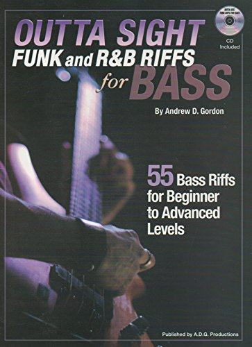 Outta Sight Funk and R&B Riffs for Bass  (English Edition)