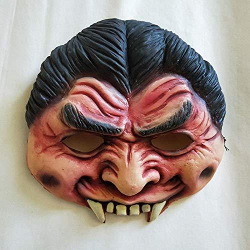 Halloween Scary Maske Zähne Maske, Latex Horror Maske, Zombie-Maske