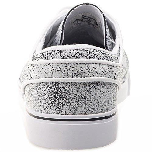 Nike Zoom Stefan Janoski Elite, Scarpe da Skateboard Uomo Gebrochenes Weiß