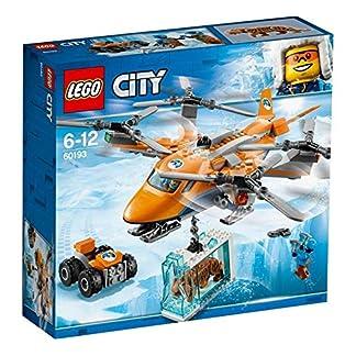 LEGO City – Ártico: Transporte Aéreo, Juguete de Construcción con Helicóptero de Juguete, ATV, Figura de Tigre, Aventuras Invernales de Juguete (60193)