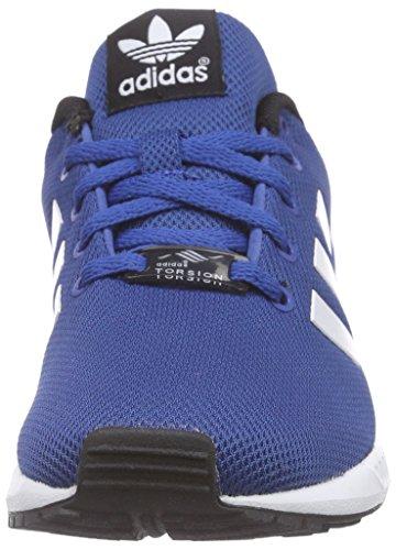 adidas Zx Flux K, Scarpe Low-Top Bambino Multicolore (Eqtblu/Ftwwht/Cblack)