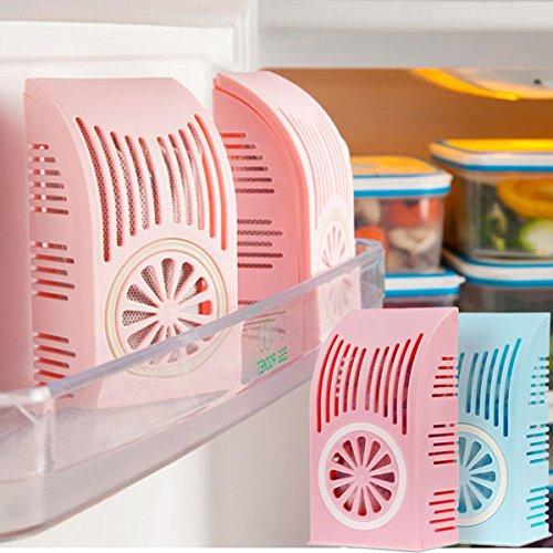 Bluelover Aktivkohle Kühlschrank Bambuskohle Deodorant Bag Bag Sterilisation Box