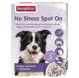 New Beaphar No Stress Spot On, 3Pipetten–für den Hund, beruhigend und entspannend