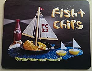 Foodshoots Fish and chips-Table design unique