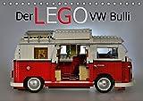 Der LEGO VW Bulli (Tischkalender 2016 DIN A5 quer): Ein Kunstwerk aus bunten Steinen (Monatskalender, 14 Seiten ) (CALVENDO M