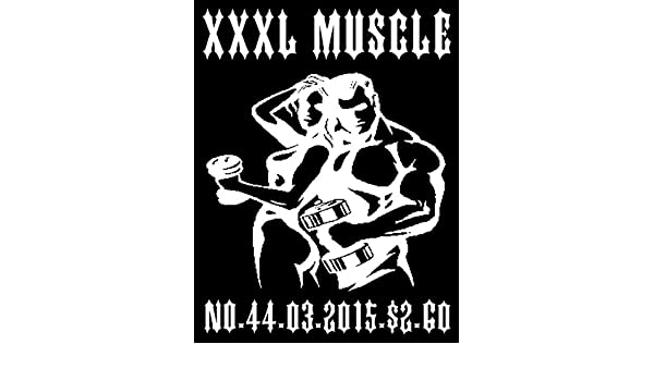 JASON W. NOSEWORTHYS XXXL MUSCLE MAGAZINE NO.03