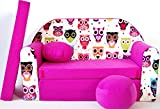 Kindersofa Spielsofa Minicouch aus Schaum Kindersessel Kissen Matratze Farbwahl (56)
