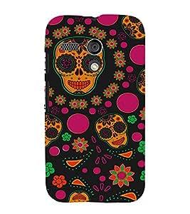 ifasho Designer Phone Back Case Cover Motorola Moto G :: Motorola Moto G (1st Gen) :: Motorola Moto G Dual ( Demon Vampire in Full moon )
