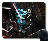 Custom Attractive Mouse Pad with Star Wars Knights Of The Old Republic Darth Revan Darth Nihilus Art Battle Sith Lightsa