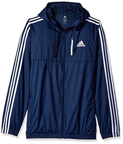Adidas Essential uomo Woven Jacket (esteso taglie) Collegiate Navy/White