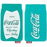 Original Coca Cola Universal Socke Tasche Türkis blau Retail Verpackung geeignet für Samsung Galaxy Ace 4