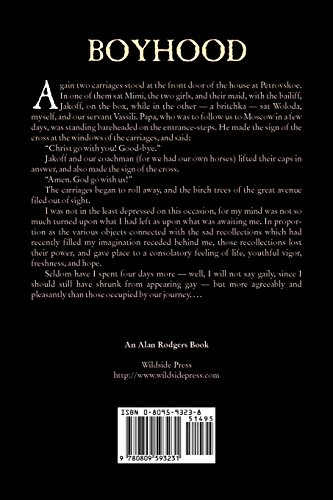 Boyhood by Leo Tolstoy, Fiction, Classics