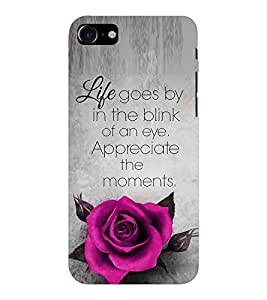 EPICCASE Good Thiking Quote Mobile Back Case Cover For Apple iPhone 7 (Designer Case)