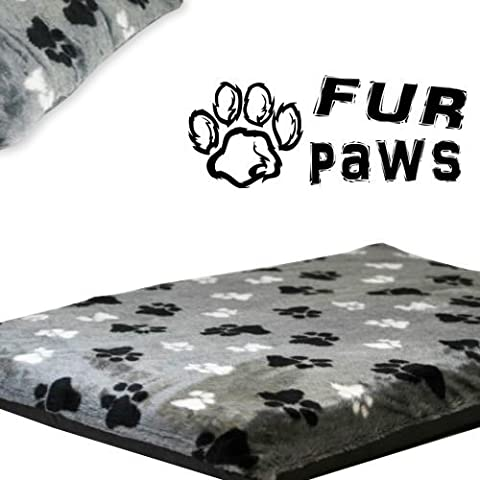 Faux Paws - Mat. Dog Bed,Pet Bed,very thick and chunky, Faux Fur, Removable Covers, Same day Dispatch 2.5