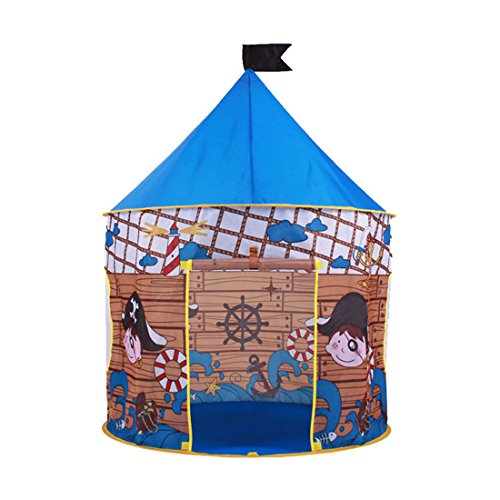 Hi Suyi Kids Children Castle Play Tent Game House Mongolian yurts Teepee Tent Indoor Outdoor Garden Beach Toys Playhouse for Boys Girls Prince Princess