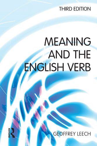 Meaning and the English Verb por Geoffrey N. Leech