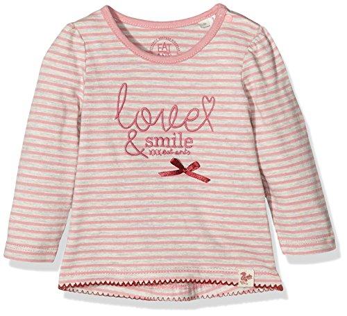 Sanetta Baby-Mädchen Sweatshirt 113699, Rosa (Candy Blush 37051), 80
