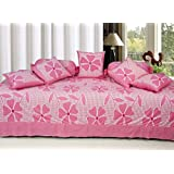 Sidhi 100% Cotton Abstract Diwan Set Set Of 8 Pcs (1 Single Bedsheet , 2 Booster Cover , 5 Cusion Cover)