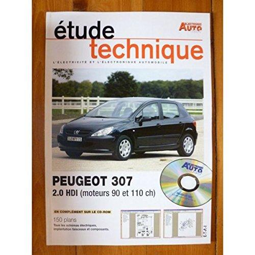 Electronic Auto Volt - 307 2.0 HDi Revue Technique Electronic Auto Volt Peugeot par E.T.A.I.