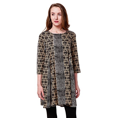 Oxolloxo Women Printed Tunic  available at amazon for Rs.329