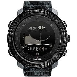 Suunto Traverse Alpha Concrete Reloj Deportivo, Unisex Adulto, Camouflage Urban Jungle (Negro), Talla Única