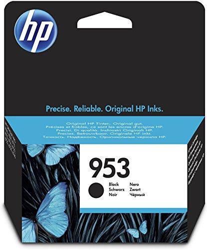 HP 953 Schwarz Original Druckerpatrone für HP Officejet Pro 8210, 8710, 8720, 8730, 8740, Standard