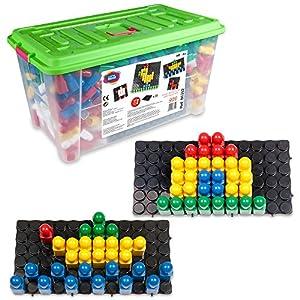 Juego Movil Juego movil86352Pixel Color Mosaico con Arena Temporizador en Caja de Juguetes (XL), 926-piece