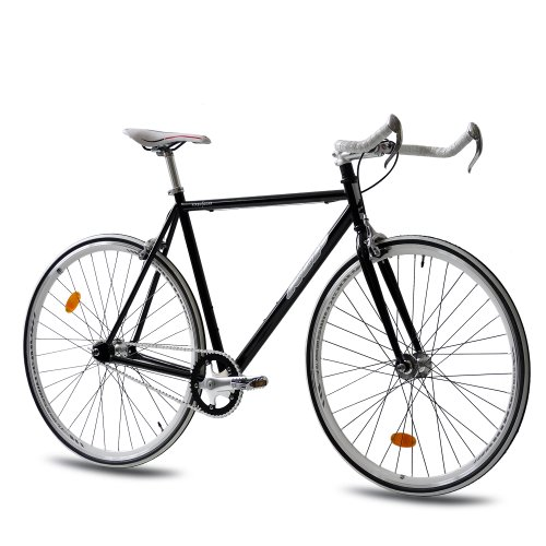 28 RENNRAD FAHRRAD KCP FG 1 BULLHORN FIXED GEAR SINGLE SPEED 59CM SCHWARZ   71 1 CM (28 ZOLL)