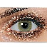 Swiftt Farbige Kontaktlinsen 1 Paar(2 Stück) Ohne Stärke - Verschiedene Farben – Jahreslinsen - Durchmesser: 14.50mm - Krümmungsradius: 8.60° - Wassergehalt: 38% - Angenehm zu Tragen (Mel)