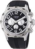 Esprit Herren-Armbanduhr XL Hi-Level Black Chronograph Quarz Kautschuk ES101101007