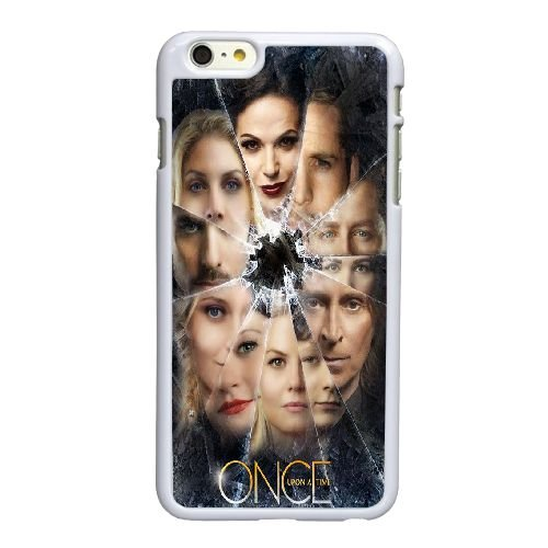 Once Upon A Time X7G53C8XL coque iPhone 6 6S plus le cas de 5,5 pouces de 6O708A blanc coque, coques iphone