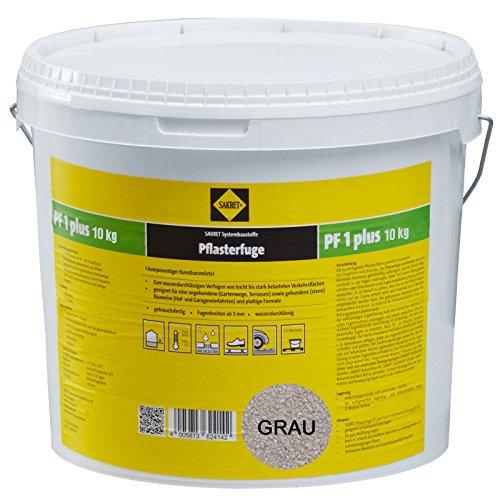 Sakret Pflasterfugenmörtel PF1 Plus (10kg, Grau)