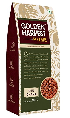 Golden Harvest Prime Pulses – Chana Red, 500g Pouch