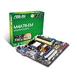 Asus M4A78-EM Mainboard Sockel AM2+ (Mikro-ATX, AMD 780G, Dual Channel DDR2 Speicher)