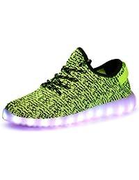 8c7c693c0e91 Aidonger Unisex Turnschuhe Licht Luminous 7 Farbe USB Lade Outdoor  Leichtathletik Beiläufige Schuhe Sneaker