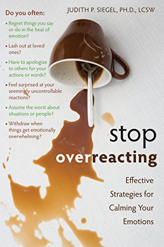 How to stop overreacting in a relationship