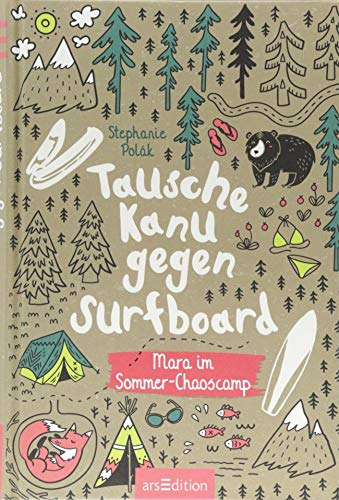 Tausche Kanu gegen Surfboard Mara im Sommer-Chaoscamp