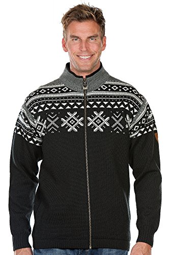 Dale of Norway Herren Jacket Dovre Jacket Black/Off White/Smoke