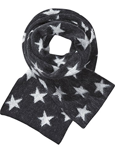 maison-scotch-womens-fluffy-star-patterned-scarf-shawl-multicoloured-mehrfarbig-combo-a-17-one-size