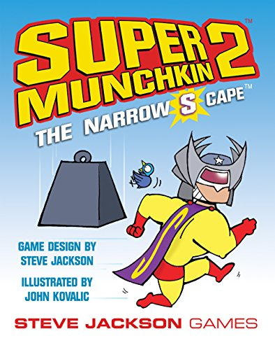 Super Munchkin 2: The Narrow S Cape por Steve Jackson